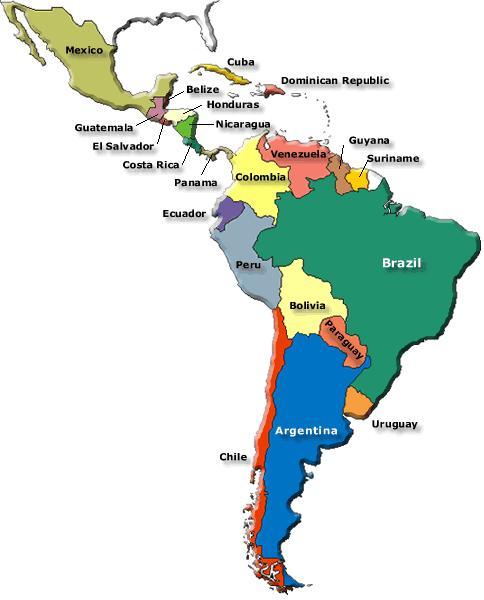 Las variedades del español en Latinoamérica