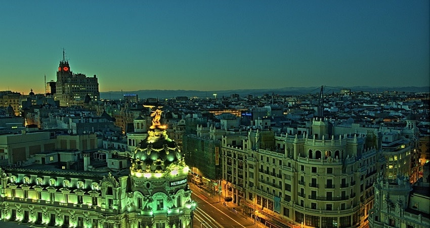 best rooftops Madrid