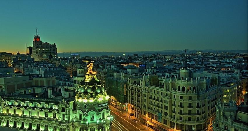 best rooftops Madrid