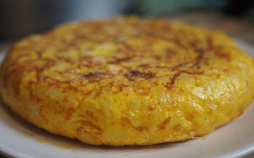 Make Spanish Omelette