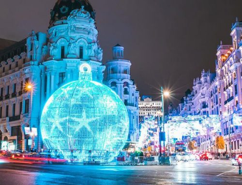 Christmas lights in Madrid 2020