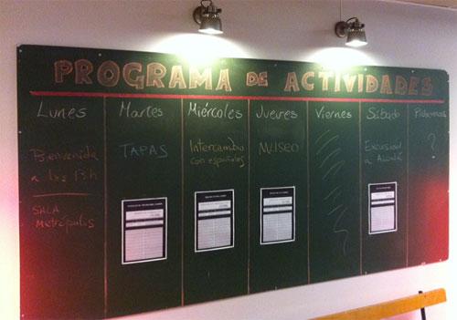 Programa Actividades